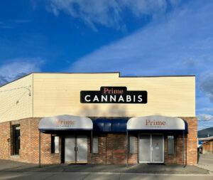 Prime Cannabis Cranbrook exterior